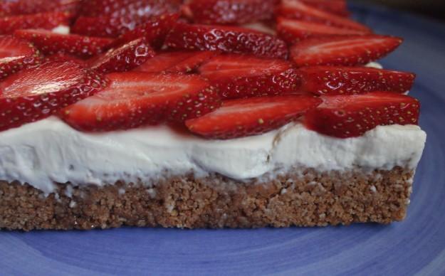 Strawberry, Amaretti & Mascarpone Tart